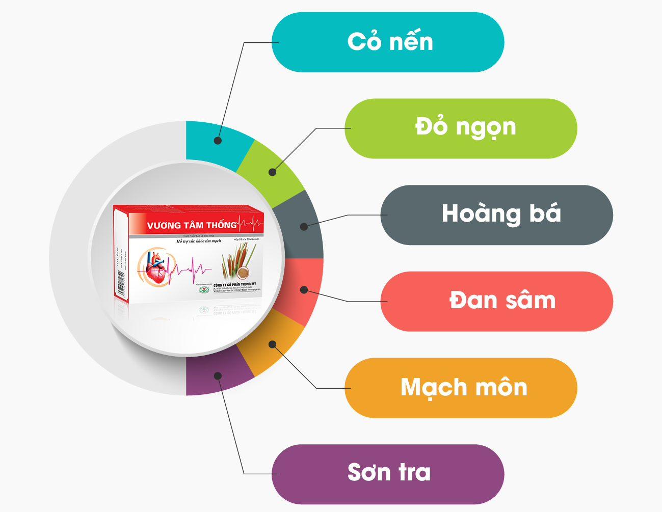 Vương Tâm Thống – sản phẩm hỗ trợ điều trị hở van tim từ thảo dược